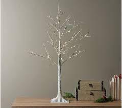 Mr  Christmas 3  Illuminated Plug In Gem Tree  White Silver