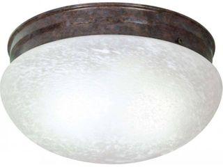 2 light large Mushroom Flush