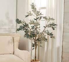 5  Faux Olive leaf Tree in Starter Pot by Valerie