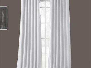 Pair of nExclusive Fabrics   Furnishings Bellino Blackout 50  x 96  Curtain Panel