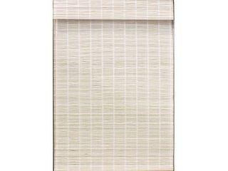 Radiance Cordless Bayshore Matchstick Bamboo Roman Shade