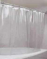 Clear  Anti mildew Vinyl Shower Curtain liner