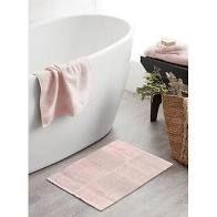 Darise Cut Pile large Bath Mat Color Pink