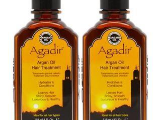 Agadir Argan 4 ounce Oil Treatment  Pack of 2
