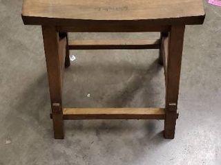 Winsome Wood Satori Saddle Seat Counter Stool  Walnut