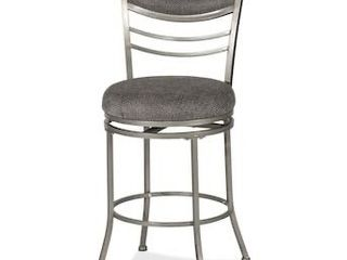 Hillsdale Furniture Amherst Champagne Counter Height Upholstered Swivel Bar Stool