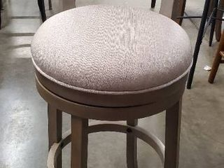 Hillsdale Furniture Thredson light Antique Graywash Swivel Barstool