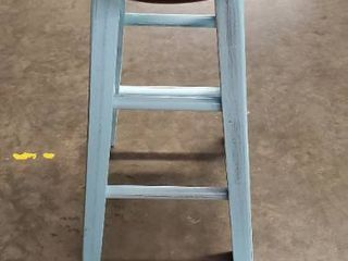 Winsome Wood Ivy Blue Counter Height Bar Stool