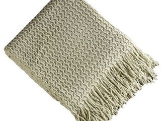 Brielle Home Winding Wave Throw Blanket