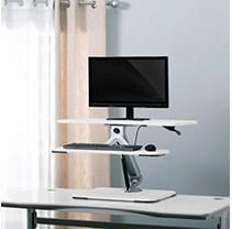 Studio Designs lift 32  Height Adjustable Desktop Riser Retail 177 49
