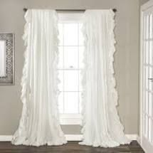 The Gray Barn Gila Curtain Panel Pair  95 Inches   White