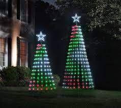 Santas Best 360 Degree 7 ft light Show Pixel Tree w  Remote