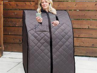 Rejuvenator Portable Sauna   One Size Retail 189 99