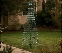 Santas Best 360 Degree lED 7ft light Show Pixel Tree with Remote