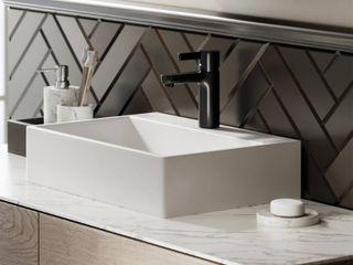 Swiss Madison SM VS203 Claire 20  Rectangle Ceramic Vessel Sink Retail 93 99