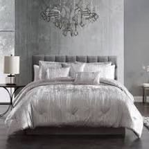 KING Riverbrook Home Turin Velvet 7 Piece Comforter Set Retail 124 99