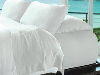 Cariloha Resort Viscose from Bamboo King Pillowcase Set  400 thread Bedding