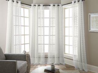 Nanshing Olly Window Curtain Panels Set of 4