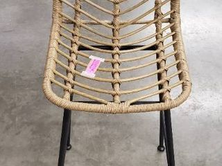 Sawtelle Outdoor Wicker Barstool by Christopher Knight Home  Retail 443 99