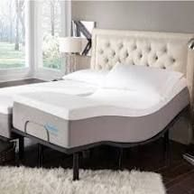 ONlY ONE SIDE  Slumber Solutions 14 inch Gel Mattress   Split King   Medium Retail 1767 49