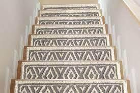Sofia Rugs Shag Stair Treads Gray Aura