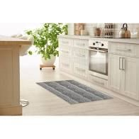 WRAP GREY Kitchen Mat by Kavka Designs