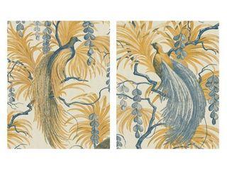 Fantasia s Bird   Feathered Fantasia by Rosenstiels Canvas Art Print Set of 2   11 x 14