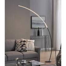 Strick   Bolton Zouma Chrome Dimmable lED Arc Floor lamp Retail 275 49