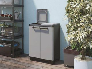 2  Compartment Split Basic Recycling System