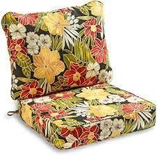 Arden   Artisans Giana Floral Deep Seat Set   47 in l x 23 in W x 8 in H