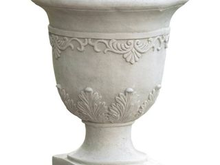Antique Moroccan 20 inch Urn Planter by Christopher Knight Home  Retail 79 98