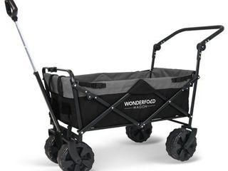 WonderFold Wagon S2 Beach Tire Push   Pull Folding Wagon  Retail 129 00