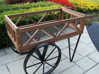 Flower Garden Wagon  Retail 209 49
