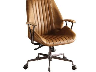 ACME Hamilton Executive Office Chair  Coffee Top Grain leather  Retail 451 99
