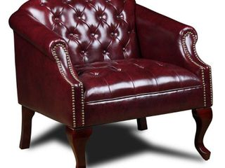 Boss Classic Traditional Button Tufted Club Chair  Retail 273 99