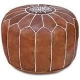 Moroccan Pouf 100 Genuine leather