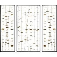 Madison Park Signature Gold Metal Wall Art