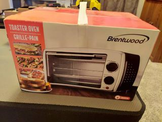 Brentwood Appliance 4 Slice Black Toaster Oven Broiler