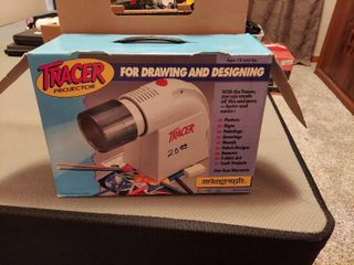 ARTOGRAPH Tracer Projector w Fluorescent lamp