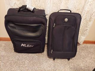 2 Rolling Suitcases