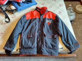 Champion Chicago Bulls Jacket   Size l