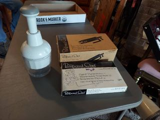 3 Pampered Chef Items