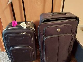 2 Suitcases on Wheels