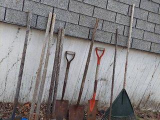 long Handled Tools   Shovels  Post Hole Jobbers and Rake