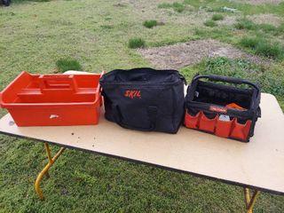 2 Tool Bags and Tool Tote