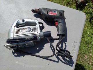 Skil 3 8  Drill and Jig Saw