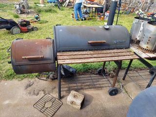 New Braunfels Smoker and Charcoal Starter