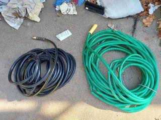2 Garden Hoses