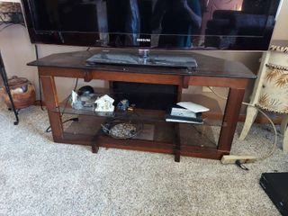 TV Stand   Contents Not Included