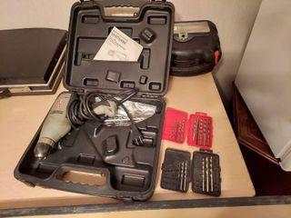 Craftsman 3 8  Drill in Case